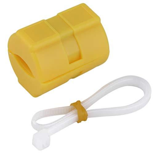 ersal ABS Magnetic Gas Fuel Power Saver Special für Auto Fahrzeug Emissionsreduzierung Yellow Case XP-2 ()