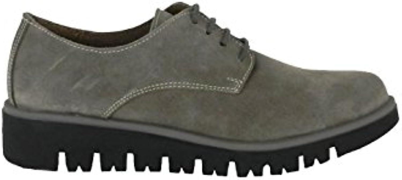 BRAN´s - Zapato Blucher en Piel Gris