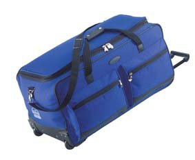 Jeep Wheeled Holdall 27 Inch Luggage Bag With Wheels Blue 555b
