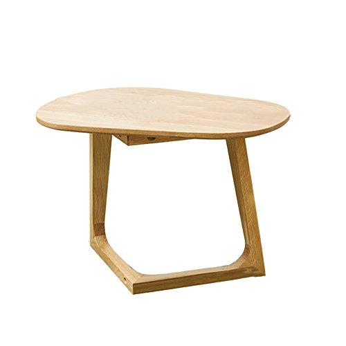 Yuan Tables Basses Petite Table Basse en Bois Massif Table d'appoint de canapé Simple Table d'ordinateur, Mini Table Salon Table d'angle Balcon Béquilles Table d'appoint de Pied /&