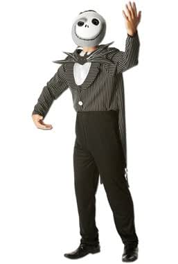 Jack Fancy Dress Costume - Nightmare Before Christmas (adult size) - Standard