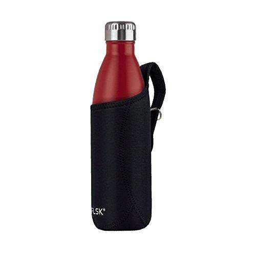 FLSK Trinklasche 0,75 Liter in schwarz