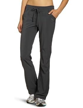 SALEWA - Pantalones de acampada y senderismo para mujer, tamaño 48/42, color negro