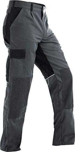 Pfanner Funktionsarbeitshose mit Stretchgewebe, Farbe:grau/schwarz, Größe:152 (106)