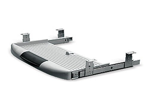 Tastaturauszug Tastaturablage Tastaturschublade grau PC Tastatur Auszug