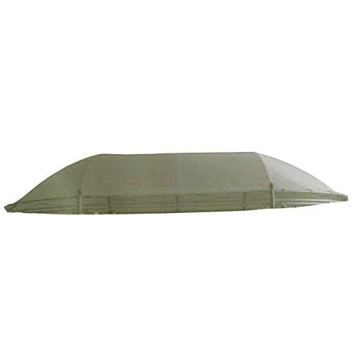 Ersatzdach für ovalen Pavillon 3x4m Polyester Oliv-grau Dachstoff Pavillion Dach