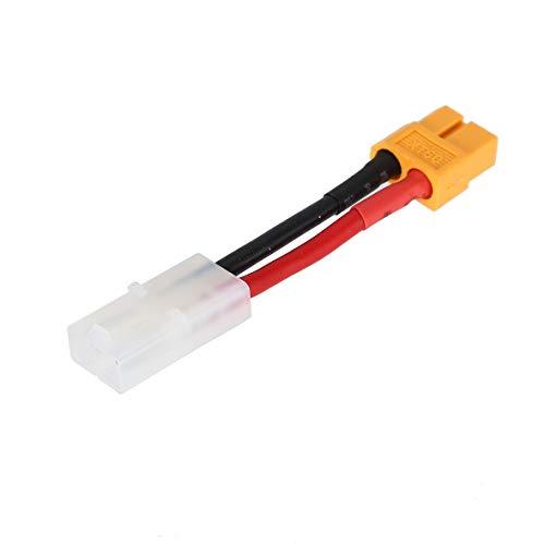 Heaviesk XT60 Connettore Adattatore Femmina a Tamiya Femmina Batteria XT-60 Turnigy Zippy 3CM per pacchi Batteria Turnigy e Zippy