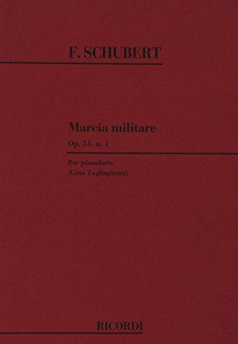 3 Marce Militari Op. 51 D. 733: N.1