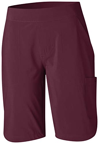 Columbia Women's Place to PlaceTM Long Short, Deep Madeira, 2X
