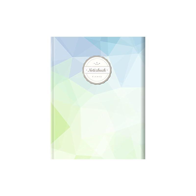 Blanko Notizbuch Star A4 156 Seiten Softcover Mit Register Seitenzahlen Leeres Notizheft Zum Selbstgestalten Zeichenbuch Skizzenbuch Blankobuch Malbuch Fresh Nature
