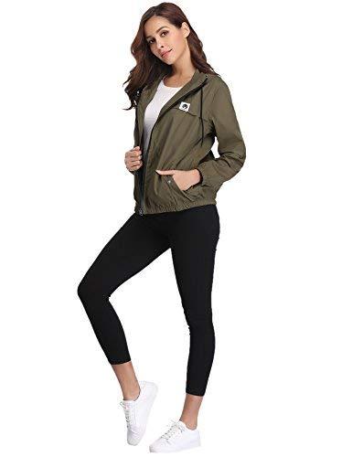 31YoTX%2By%2BnL - Abollria Women Rain Jacket Waterproof with Hood Lightweight Active Outdoor Windbreaker Raincoats