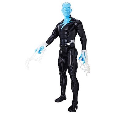 Marvel: Spider-Man - Titan Helden - Electro - 30 cm Action Spielfigur