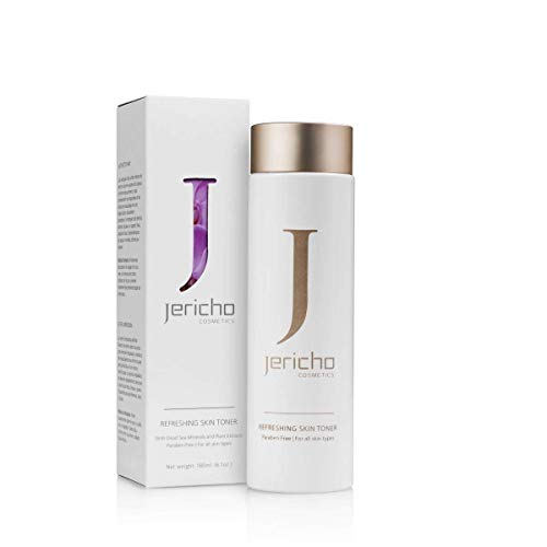 Jericho Refreshing Skin Toner for All Skin Types 180ml 6.4fl.oz Dead Sea -