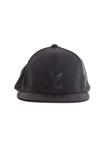 adidas Kinder 3-Stripes Snap Baseball-Cap, Schwarz, FR Unique (Taille Fabricant : OSFY) Adidas 3 Stripe Cap