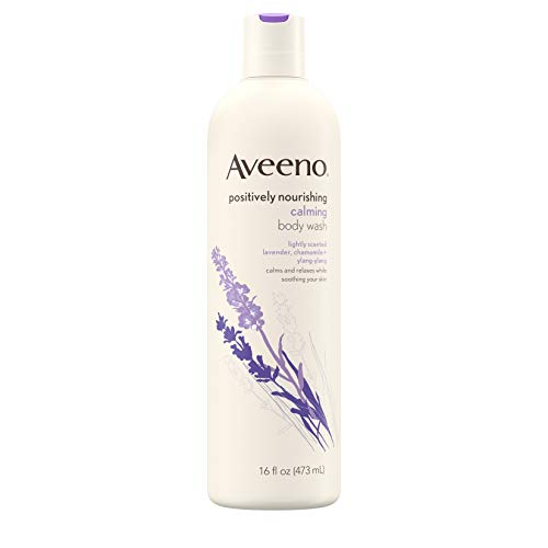 Aveeno Active Naturals Body Wash Calming Lavender Chamomile + Ylang Ylang 475 ml (Körperwäschen)