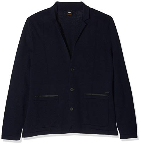 BOSS Casual Herren Ajames Jacke, per Pack Blau (Dark Blue 404), X-Large (Herstellergröße: XL)