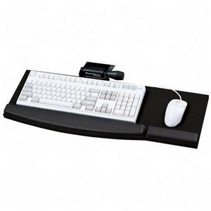 Mead-Hatcher Lift-N-Loc Articulating Keyboard Arm, 360 Degrees swivel and a