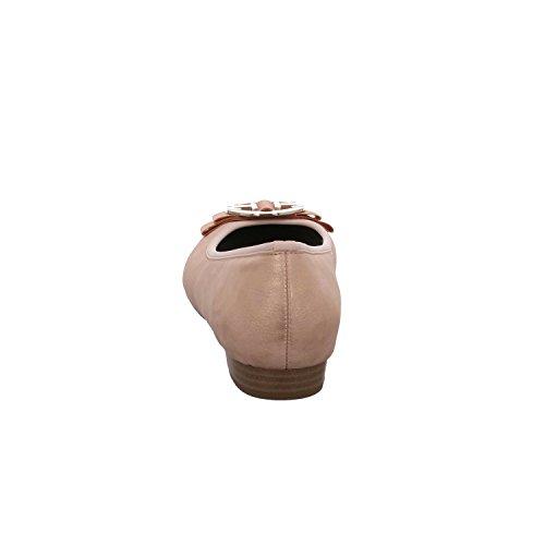 Jenny by Ara PISA 22-63306-24 Damen Komfort Pumps eleganter Boden rosa/lachs