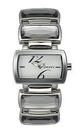 DKNY NY4246 - Reloj de cuarzo para hombre con correa de acero inoxidable, color rosa