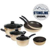 STONELINE SET DE 8PIECES +MOULE EN PIERRE GOLD
