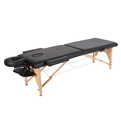 CAR SHUN All-Inclusive Tragbare Massage Tisch Falten Elm Massage Bett Beauty-Salon Portable Portable Stickerei Bett