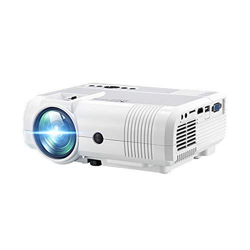 47 - Household appliances Proyector HD 1080p de Cine en casa, Proyector portátil de casa 3D, WiFi proyector Micro de la Misma Pantalla (20X15X7.5CM)