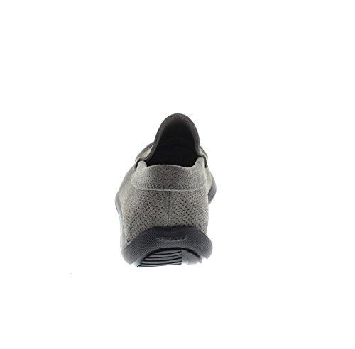 FRAU 14C4 FX blu scarpe uomo mocassini suola extra light roccia