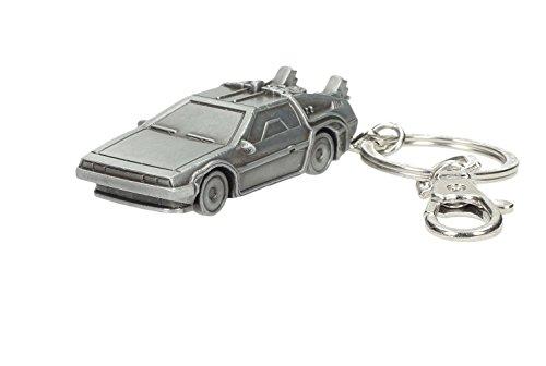 Back to the Future Metal Keychain DeLorean 7 cm Toys Portachiavi