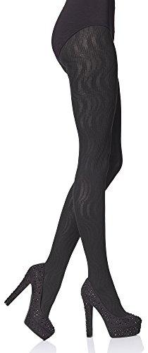 Merry Style Damen Strumpfhose Cedra 80 DEN (Schwarz, S (32-36))