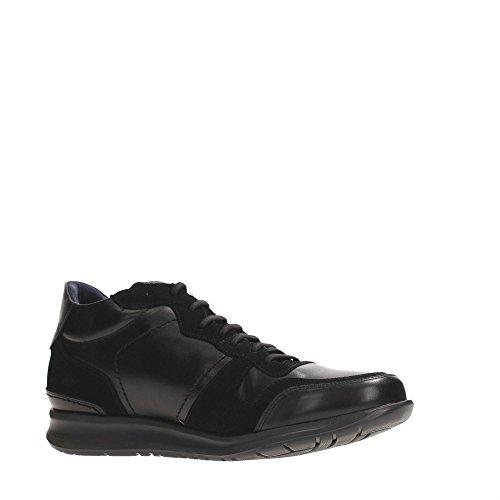 CallagHan 86505 Sneakers Uomo Pelle NEGRO Nero
