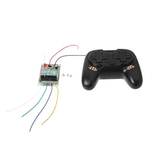 Xuniu 4CH 2.4G Wireless RC Toy Module Control Remoto Receptor Transmisor 5A 50M