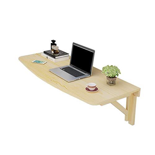 YYHSND Faltbarer an der Wand befestigter Drop-Leaf-Tisch, Küche und Esstisch Schreibtisch Büro Computer Workstation Tisch Klapptisch (Size : 80×40cm)