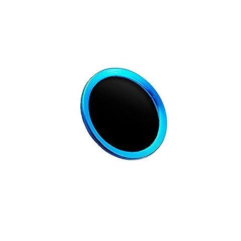 Doutop Bouton principal Autocollants pour iPhone 6 Plus Touch ID autocollants Stickers touche Home avec empreintes digitales Inden tification Function Bague pour iPhone 6 Plus iPad Air 2 iPad Mini 3 Noir +