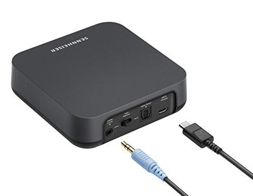 Sennheiser BT T100 Bluetooth-Audio-Transmitter für Hi-Fi oder Home Entertainment Schwarz - 8