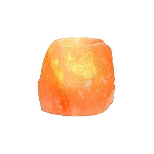 Porta candela di sale rosa dell'himalaya 400 gr