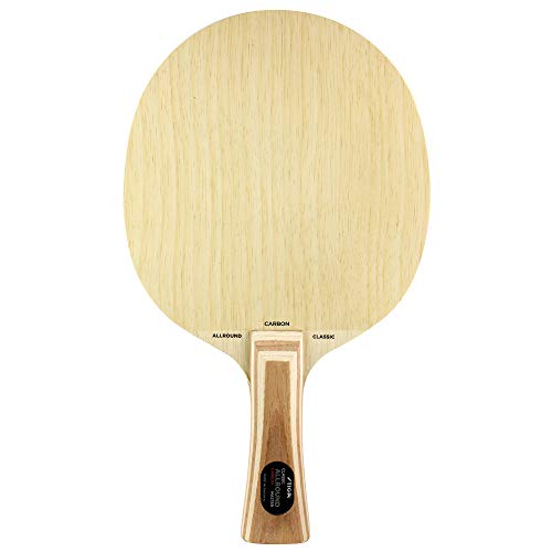 Stiga Allround Carbon (Classic Grip) Table Tennis Blade, Wood, One Size