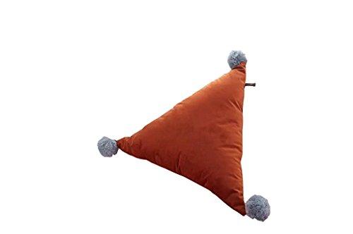 L-förmige Speicher (HETAO Nette Persönlichkeit Nordic Einfach Dreieck Ball Kissen Verkleiden sich Zimmer Sofa Auto Kissen , 7 Geh ins Bett)