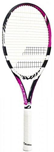 Babolat Erwachsene Tennisschläger Drive Lite Unbesaitet, schwarz-rosa, L2, 101195-178