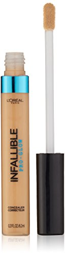 L'OREAL - Infallible Pro Glow Concealer, Natural Beige - 0.21 fl. oz. (6.2 ml)
