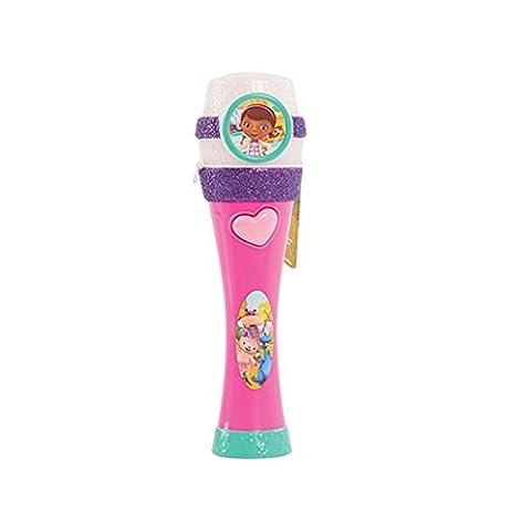 Disney Junior – Docteur La Peluche – Musical Light-Up Mic – Micro Version Anglaise