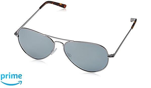 Polaroid Unisex-Erwachsene Sonnenbrille Pld 1017/S JB 6LB, Grau (Ruthenium/Grey Silmir Pz), 60