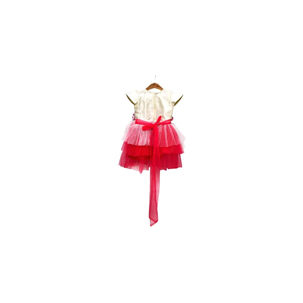 3249c96a6f PinkBlue India Baby Girl Party Wear Frock Kids Birthday Dress Pink ...