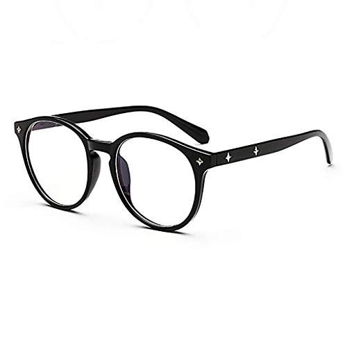 Der Geschmack von zu Hause Enter Blue Light Blocking Glasses Schutzbrille für Computer/Telefon Besserer Schlaf [Anti Eye Fatigue] Unisex (Männer/Frauen) (Color : A)