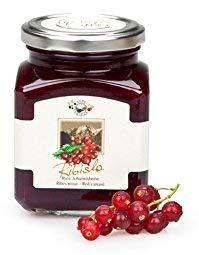 Alpe Pragas - Fruchtkompott - 75% rote Johannisbeeren - 12 Packungen à 335 g