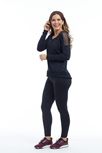 Balance Collection Damen Alexa Pullover Sweatshirt schwarz
