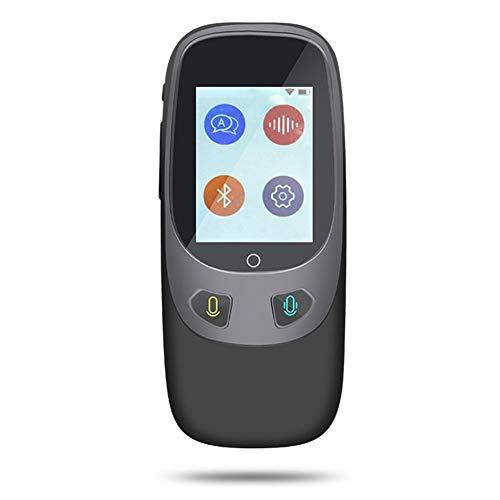 Zay Multi-Language simultane Übersetzung Wifi Übersetzer Easy Echtzeit-Multi-Übersetzer Unterstützung 4G und Wifi Übersetzer für Reisen Business Studium schwarz