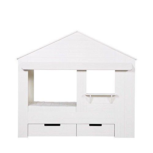 Woood Kinderbett Hütte aus Kiefernholz FSC huisie 7