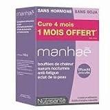 Nutrisanté Manhaé Pré-Ménopause Ménopause 120 Capsules dont 1 Mois Offert