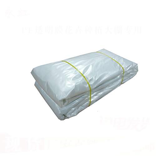 Plane Transparente Wasserdichte Anti Aging Sonnenschirm-Tuch Folie Plastiktuch Kein Curling Und Keine Schnalle. (größe : 4x8m)