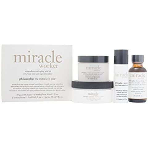 Philosophy Miracle Worker Gift Set Miraculous Anti-Aging Trial Kit -